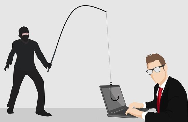 phishing podvod