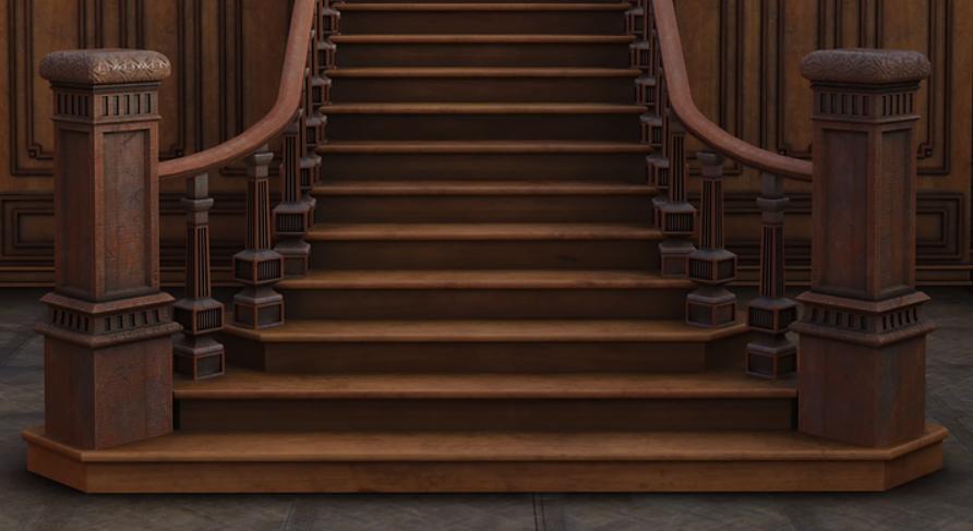 přímé schodiště