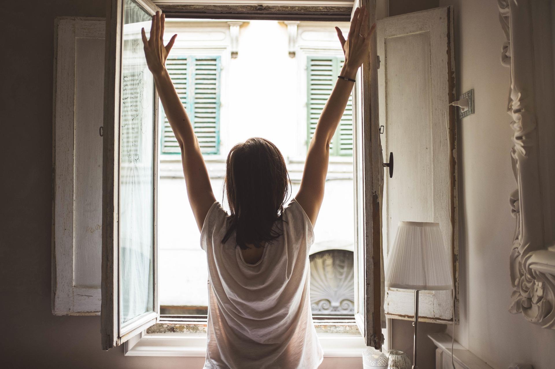 ranní vstávání